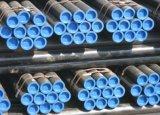 Черная труба GR b Sch40 ASTM A106 безшовная стальная