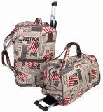 Новый мешок Duffle полиэфира типа для перемещая мешка багажа мешка вагонетки с 2 колесами