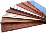 Écrans antibruits importés de copeaux de bois de matériaux de peuplier