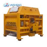 Js2000 Máquina de construcción cemento eléctrica hormigonera