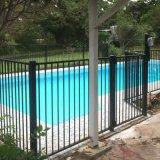Panneaux de clôture de l'acier pour le jardin, piscine en acier d'Escrime Escrime