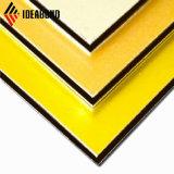 Ideabond Color sólido muro compuesto de aluminio panel decorativo de interior