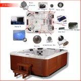 6 vasche da bagno esterne della vasca calda di massaggio del sesso di stile europeo indipendente della vasca calda della persona