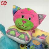 Cuscino molle della peluche del giocattolo di sostegno del collo del bambino dell'elefante del gatto