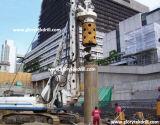 type Integrated foret de 30m Crwler de roche, empilant l'équipement de foret