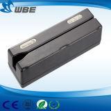Leitor de cartão do USB do furto Hi/Lo-Co/escritor magnéticos manuais