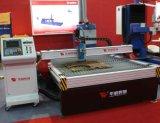 Тнк-3015 экономичные низкая цена дешевых таблица с ЧПУ модель плазменного газового пламени режущей машины