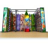 Mur d'escalade multifonction d'équipement de terrain de jeu pour l'intérieur Shopping Mall