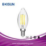 Usine Ampoule de LED 4W E27 A60 avec boîtier en verre LED Lampe à incandescence