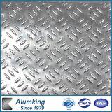 Kompresse prägte Aluminiumblatt für helle Spur