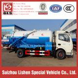 DFAC Camión de succión de alcantarillado 4 * 2 Equipo de aguas residuales Camión fecal de vacío