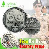 Insigne en aluminium de Pin de coutume des Etats-Unis d'indicateur de logo promotionnel en gros de lanière