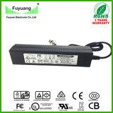 carregador de bateria de 42V 2.5A para o carregador de bateria do lítio 36V