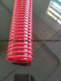 Espiral flexíveis de PVC reforçados de água do tubo de borracha de aspiração da Mola