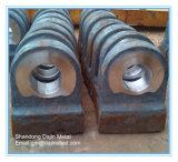 As placas de mandíbula/manto e martelos/Côncavo/camisas/Placas de impacto etc Peças do triturador de Pedra