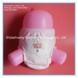 Calças sonolentos das fraldas para bebé descartáveis puxe os fabricantes de fraldas para bebés fraldas de pano