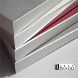 Design personalizado Painel de favo de mel de alumínio de cor de mármore