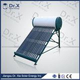 Calentador de agua solar del tubo del vidrio de vacío 200L
