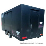 Les aliments commerciaux Panier Le panier alimentaire mobile/de remorque/camions alimentaire