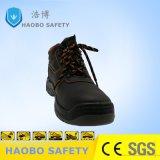 Pattino di sicurezza sul lavoro del cuoio genuino S1p
