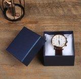 習慣およびWhosale Stripe Pattern Paper LidおよびTray Watch Box、Pillow、WatchのためのGift PackagingのCommonly Used Packaging Watch Box