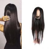 긴 가발 Virgin 브라질 사람의 모발 가발