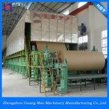Gran capacidad de fabricación de papel corrugado Máquina utilizando papel reciclado de residuos