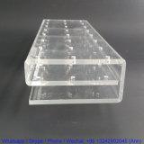 Étalage acrylique fait sur commande de lucette de stand de lucette