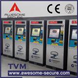 Portas de bilhete automatizado com asas de retracção e sensores ópticos
