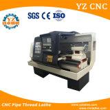 Машина Lathe CNC резьбы трубы Cqk245 с двойным цыпленком