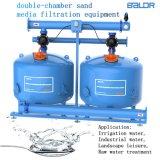 Wasser-Sandfilter-Maschine 60 Zoll-Zylinder-Quarz-Sand-Media-Filtration-Gerät