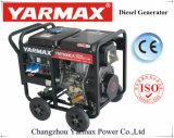 Yarmax 5kVA Portable-geöffneter Typ Dieselgenerator-ökonomischer Hauptgebrauch