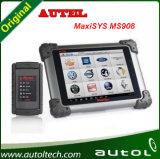Оригинальные Autel MaxiSys MS908 OBD 2 сканер Bluetooth беспроводной дисплей с сенсорным экраном универсальный сканер OBD2