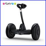 Individu sec de Xiaomi de roue d'équilibre 2016 équilibrant le scooter électrique avec des haut-parleurs de 10 pouces DEL Bluetooth