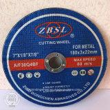 金属のCutingディスクは、鋼鉄のための車輪を切る車輪を断ち切った