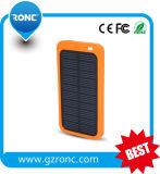 côté mobile portatif de l'énergie 5000mAh solaire avec RoHS
