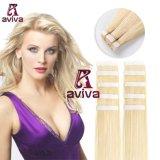 De Band van de Kleur van de Blonde van de Uitbreiding van het Haar van Aviva in Uitbreiding 16inch van het Menselijke Haar van de Band van de Huid Weft Pu van het Haar van de Uitbreiding van het Haar de Maagdelijke (av-tp0016-613)