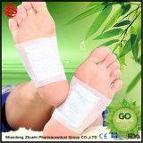 Les connexions de pied de détox avec les collants adhésifs de garnitures de bambou de soins du pied améliorent la santé