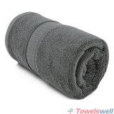 オリーブ色の灰色の贅沢100%のタケ手タオル
