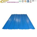 建築材料カラーペンキの版によって電流を通される鋼鉄波形の屋根ふきシート