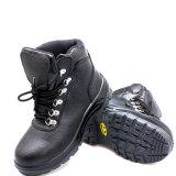 Sapatas de segurança de aço baratas do trabalho do dedo do pé