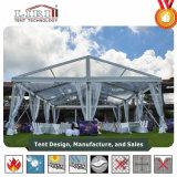 Semi-permanente Duidelijke Tent 10X15m van de Spanwijdte van het Aluminium de Tent van het Huwelijk