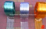 Прозрачные прокладки занавеса PVC/занавес двери полиэфира для двери PVC (HF-K59)