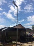 25W白いLEDの街灯の太陽エネルギーランプ