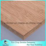 madeira compensada de bambu horizontal carbonizada 20mm do bambu do painel da placa de bambu