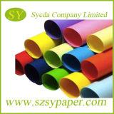 제조자 도매 색깔 종이 Woodfree 종이