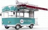 Тележка мороженного еды попкорна Ce Approved передвижная для сбывания