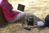 100W off Grid Energia Solar gerador de energia com AC/DC/USB para Home/Camping