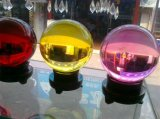 DecorationのためのK9 60mm Clear Crystal Glass Ball