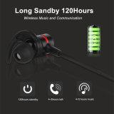 Hoofdtelefoons van het in-oor Bluetooth van de Schakelaar van de Sensor van de magneet de Draadloze Stereo voor Gymnastiek, het Aanstoten, het Lopen